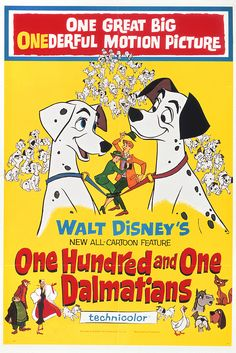 One Hundred and One Dalmatians hit theaters on January 25, 1961.