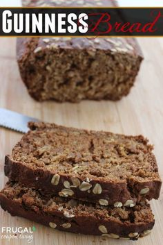 Guinness Bread and Other Adult St Patricks Day Recipes on Frugal Coupon Living. Irish Recipe. Beer Recipe. Bread Recipe. St Pattys Dday Recipe.
