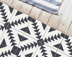 Bristol Kitchen Bathroom Backsplash Tile Wall Stair Floor | Etsy Flooring For Stairs, Vinyl Flooring, Kitchen Flooring, Flooring Ideas, Camper Flooring, Tile Decals, Wall Tiles, Vinyl Decals, Wall Decal