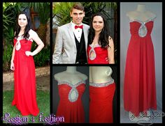 Flowy dress with ruched bust area and a circular opening on the cleavage with silver look diamante detail. From R1600 - See more at: http://www.passion4fashion.co.za/matric-dresses.html#sthash.hg4IJqJU.dpuf