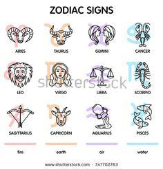 The twelve zodiac signs: Aries, Taurus, Gemini, Cancer, Leo, Virgo, Libra, Scorpio, Sagittarius, Capricorn, Aquarius, Pisces. Zodiac Signs Aries, Sagittarius And Capricorn, Gemini And Cancer, Zodiac Facts, Virgo Constellation Tattoo, Slot, Gorgeous Tattoos, Simple Doodles, Constellations