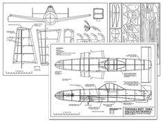 Yokosuka MXY7 Ohka - plan thumbnail