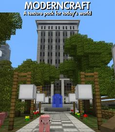 Modern Craft Resource Pack for Minecraft 1.7.2