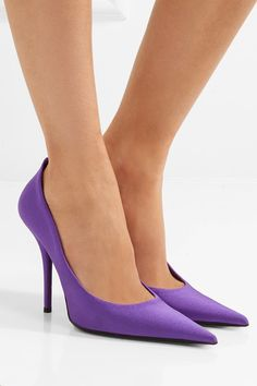 Balenciaga - Spandex Pumps - Purple - IT36.5