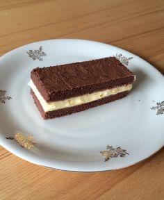 "To enjoy without: ""Milchschitte"" with buttercream #milchschnitte #glutenfree #lactosefree #fructosefree"