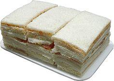 """Sandwiches de Miga de la Confiteria """"Santa Ana"""" y una botella de Coca Cola...  Recuerdos de nuestras reuniones """"especiales"""" con Marta T. mi amiga de la infancia."""