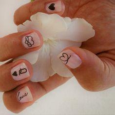 Tiny gold and black hearts nail tattoos / Valentines day nail | Etsy Nail Decals, Nail Stickers, Heart Stencil, Metallic Nail Polish, How To Cut Nails, Nail Tape, Flat Brush, Beautiful Nail Designs, Red Nails