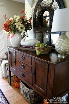 21 Rosemary Lane: Sneak Peek ~ Our Fall Foyer