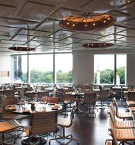 A Voce- Columbus Circle, Manhattan. Chef Missy Robbins.  I came here with my parents when they were visiting once, and the food was amazing.