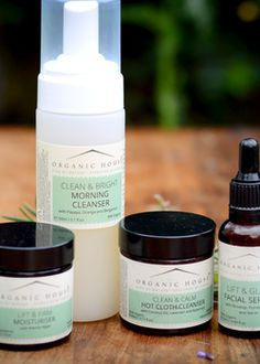 Organic House Face Care Gift Set. Photograph by Helen Rayner