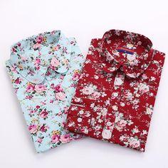 Women's Floral Long Sleeve Blouse