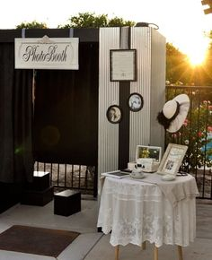 I'm a little biased but I LOVE this photobooth:-)www.vintagephotoboothrentals.com