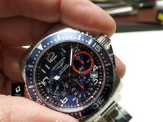 Longines Hydroconquest 2013 Chrono steel bracelet #Baselworld
