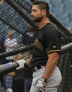 Francisco Cervelli...via Instagram Pittsburgh Pirates Baseball, Pittsburgh Sports, Call Me Maybe, Black N Yellow, Gorgeous Men, Mlb, Mens Tops, Jolly Roger, Future Husband