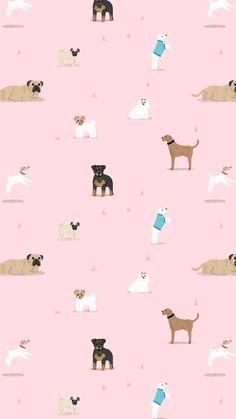 Dog wallpaper iphone art backgrounds 24 new Ideas Dog Wallpaper Iphone, Tier Wallpaper, Trendy Wallpaper, Animal Wallpaper, Tumblr Wallpaper, Cute Wallpapers, Seagrass Wallpaper, Paintable Wallpaper, Colorful Wallpaper