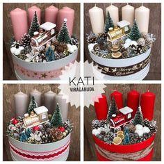 Christmas Jars, Homemade Christmas, Diy Christmas Gifts, Winter Christmas, Christmas Wreaths, Merry Christmas, Christmas Decorations, Advent Wreath, Diy Wreath