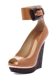 B Brian Atwood Alouette Wedge High Heel on HauteLook $194.00