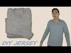Loom Knitting, Knit Crochet, Men Sweater, Long Sleeve, Sweaters, Mens Tops, Jackets, Clothes, Dresses