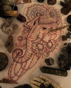 elephants tattoo design elephants tattoo design Canvases is part of tattoos - elephants tattoo design Canvases is part of Elephant Tattoo Designs The Body Is A Canvas Tattoo idea's Leni Winstel Leni tattoo Winstel Badass Sleeve Tattoos, Space Tattoo Sleeve, Tribal Sleeve Tattoos, Sleeve Tattoos For Women, Tattoo Sleeve Designs, Women Sleeve, Tattoo Sleeves, Geometric Tattoos, Hip Tattoo Designs