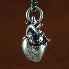Anatomical Heart Necklace. Is it weird that I'm in love with this?