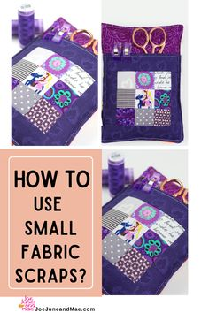 Do you ever wonder what to do with all those super cute fabric scraps that are left over from your sewing projects? Check out this fabric scraps project ideas that you can try! This sewing… More Scrappy Quilt Patterns, Christmas Quilt Patterns, Beginner Quilt Patterns, Modern Quilt Patterns, Paper Piecing Patterns, Scrappy Quilts, Sewing Patterns, Cute Sewing Projects, Scrap Fabric Projects