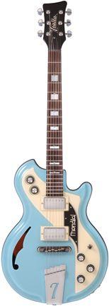Italia Guitars Mondial Classic Blue