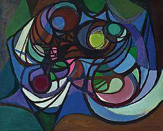 Roberto Burle Marx - Composição em Círculos (1971)