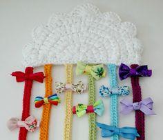 rainbow-clip-holder
