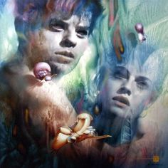 BY GERARD DI MACCIO......VISIONARY FRENCH PAINTER......BING IMAGES.....