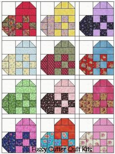 Looks like a great scrap quilt.