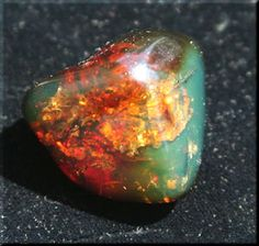 Chiapas amber.   Jacinth/Amber/Zircon-Gad's stone- 11th foundational stone in new jerusalem.  rev.21:20
