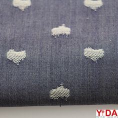 Knitted fabrics & woven fabrics professional supplier – Shanghai YiDA Textile Co., Ltd: TJ00052 The jacquard Denim Fabric is suitable for ...