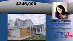 http://ift.tt/29lMJLQ Great home in West Jordan 4 bedroom 3 bathroom in River Ridge subdivision - Call Tammy at 801-712-2477 to see this home. This home in West Jordan has many upgrades not usually found in this price range. Features include Venetian plaster paint throughout  newer maple cabinets with double crown molding in the kitchen  Brand new energy efficient double hung windows with custom blinds  master guard fire system  furnace  water heater  central air  garage door & opener and…