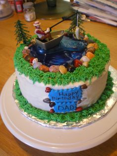 fishing themed birthday cakes | 2304px