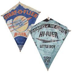 Kites lots of fun...