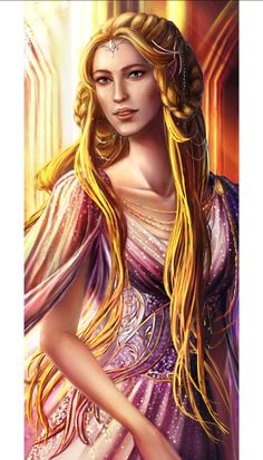 a high elf lady from The Silmarillion ^^ Findis the First Daughter of Finwe Tolkien, Character Sketches, Character Portraits, Character Art, Fantasy Characters, Female Characters, History Of Middle Earth, Elf Art, Female Elf