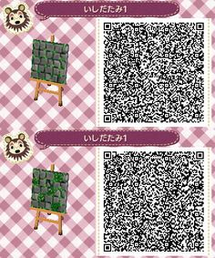 Grey Ivy Stone Path - Animal Crossing New Leaf QR Code