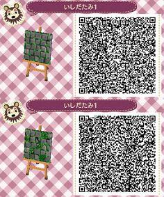 Grey Ivy Stone Path -  Animal Crossing New Leaf QR Code