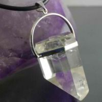 35 Handmade Crystal Jewellery Clear Quartz Pendant