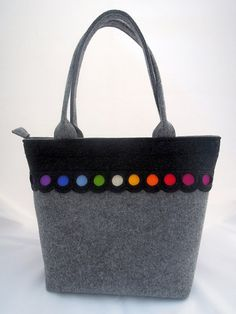Colorful lovely handmade fashionable Big Size Felt by GreenSheepPL