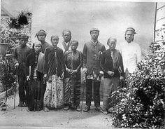 Dutch Guiana - Javanen, foto gemaakt tussen 1880 en 1900