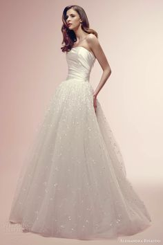 alessandra rinaudo wedding dresses 2014 rosalie strapless ball gown