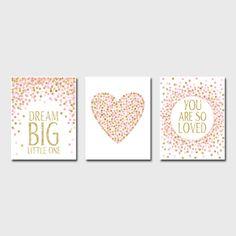 Set of Prints Nursery Prints Dream Big Little by EllenPrintable