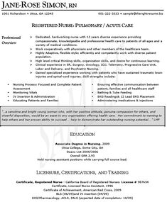 Emergency Room Nurse Resume Extraordinary Labor Nurse Resume Labor Nurse Sample Resume  Resumes  Pinterest