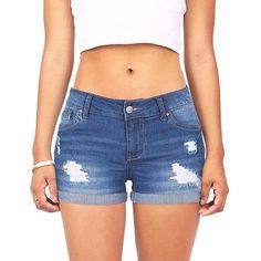 16468f191b Fashion Sumemr Women'S Shorts Low Waist Ripped Hole Short Mini Jeans Denim  For Women Casual Plus Size Trousers Pantalones