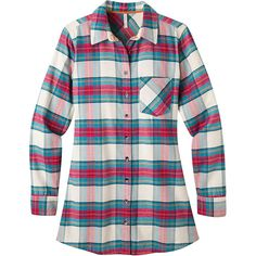 Mountain Khakis Women's Penny Plaid Tunic Shirt