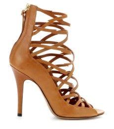 Isabel Marant - Paw leather sandals  - mytheresa.com GmbH