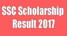 SSC Scholarship Result 2017 All Education Board Bangladesh has been available on our website http://sscresult-2017.com.  SSC Scholarship Result 2017 of 10 Education Boards BD will give soon.