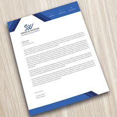 Corporate Business Letterhead Download here: http://graphicriver.net/item/corporate-business-letterhead/10869319