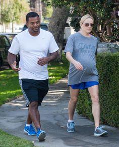 Angela & Alfonso Ribeiro: Workout Duo